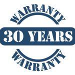 30 jaar garantie